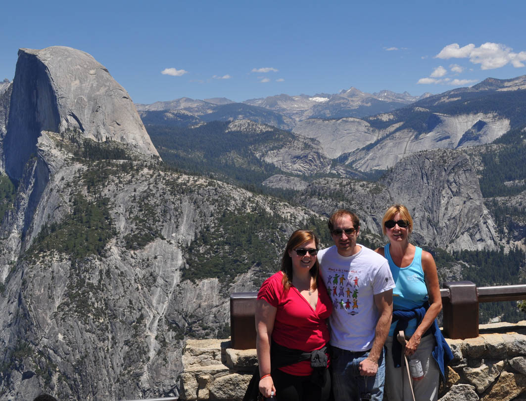 Yosemite And Bass Lake At Wishon Point